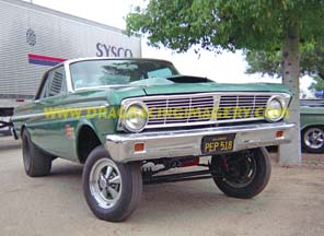 64 Falcon BFX- Green Manalishi